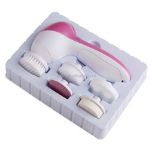 Mini Portable Facial <strong>Equipment</strong> hot selling top quality 5 in 1 facial cleansing brush