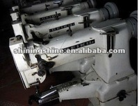 used post bed bra and leather industrial sewing machine