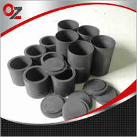 high purity graphite crucible for mini melting furnace