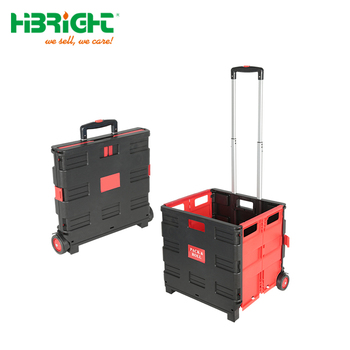 plastic shopping foldable cart