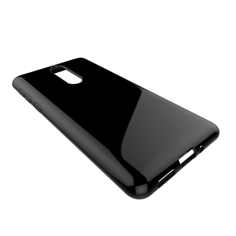 clear Transparent soft mobile phone case for Nokia 9 tpu back cover
