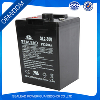 Rechargeable battery for solar with sealed lead acid battery 2v 200ah