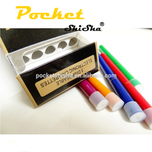 New products 2016 500puffs shisha time pen refillable disposable hookah shisha pen