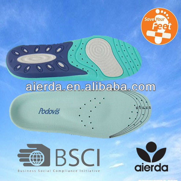 2013 shoe material pallets and pad soft shoe insert