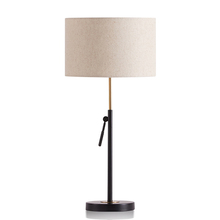 home fabric lighting led up and down table lamp