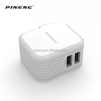 Latest outdooe travel portable white US Version dual usb Quick Charger
