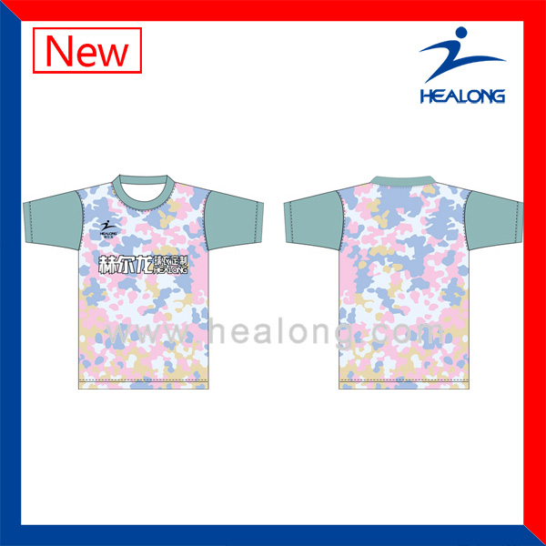 New Pattern T-Shirts High Quality T-Shirt All Over Sublimation Printing T-Shirt