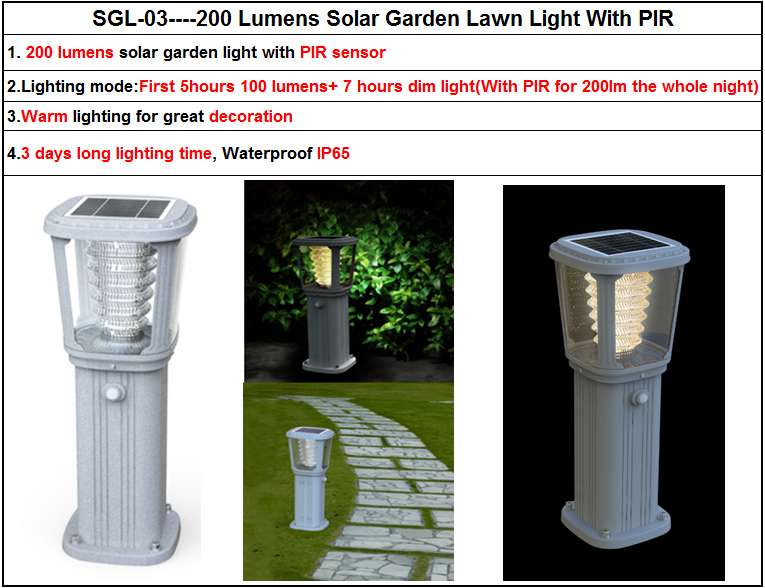 Solar Panel Stainless Steel Pole Yard Solar Light Led For Street