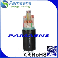 4 core 4mm /10 mm pvc Xlpe Power Cable 11KV