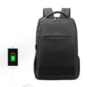 2019 Hot selling fashionable  Tigernu Laptop backpack business bag for men anti theft usb charging bag 15.6inches
