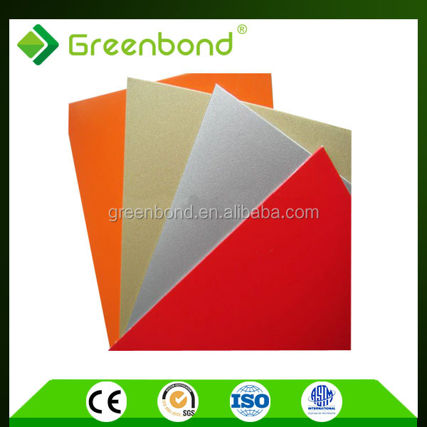 Greenbond aluminum building material for advanced construction with discount price