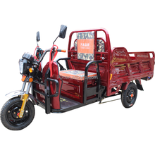electric passenger tricycle auto rickshaw price/electric cargo tandem tricycle for adults/motorcycle sidecar for sale