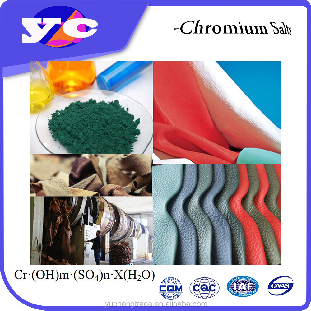 Basic chromium sulphate 23% 22%-26% (Cr2O3%)