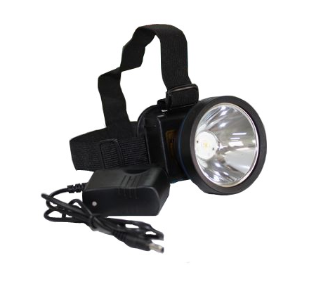 Head Led Light 3W Q5 30 Degree Bead Angle High/Low Switch Model Moving Head Lights/Coon Hunting Light #YJM-6818