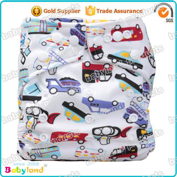 Cute Printed Cloth Diaper Reusable Baby Cloth Diaper