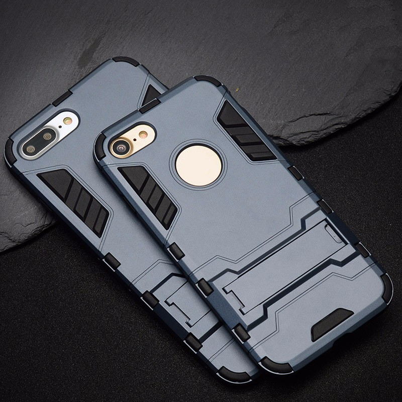 oem shockproof kickstand armor mobile phone case for iphone 6