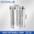Rfid access control full height turnstile security rotating gate for bank