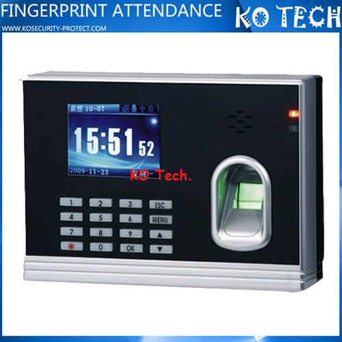KO-M8 Color screen RFID & Fingerprint Digital Date Time Stamp Machine