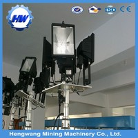 4X500W light tower for construction site or mine