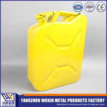 Hot-sell 5gallon yellow canister jerry can petrol cans with spout