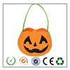 Pumpkin Trick or Treat Felt Candy Bag for Halloween Party Costumes