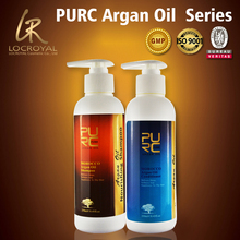 For men and women hair nourish natural argan oil ingredient shampoo and conditioner best OEM price