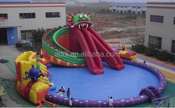 commercial inflatable aquatic park for sale
