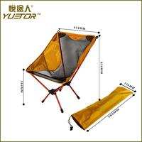Factory Supply folding portable camping chair made in china