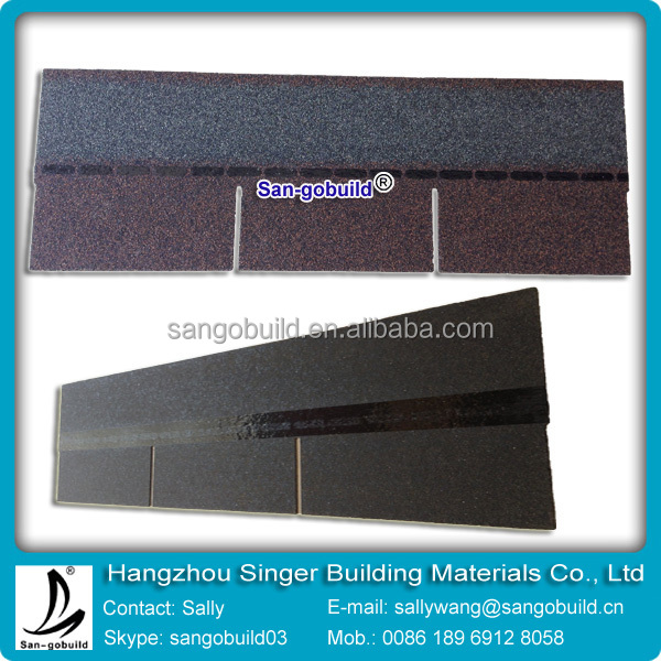 waterproof best asphalt shingles for civil building