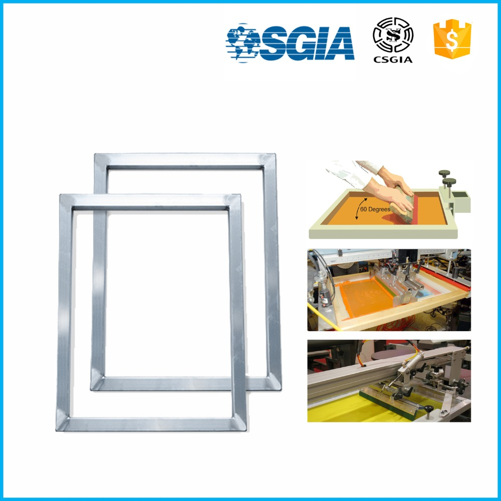 China factory silk screen printing frame with filtering mesh