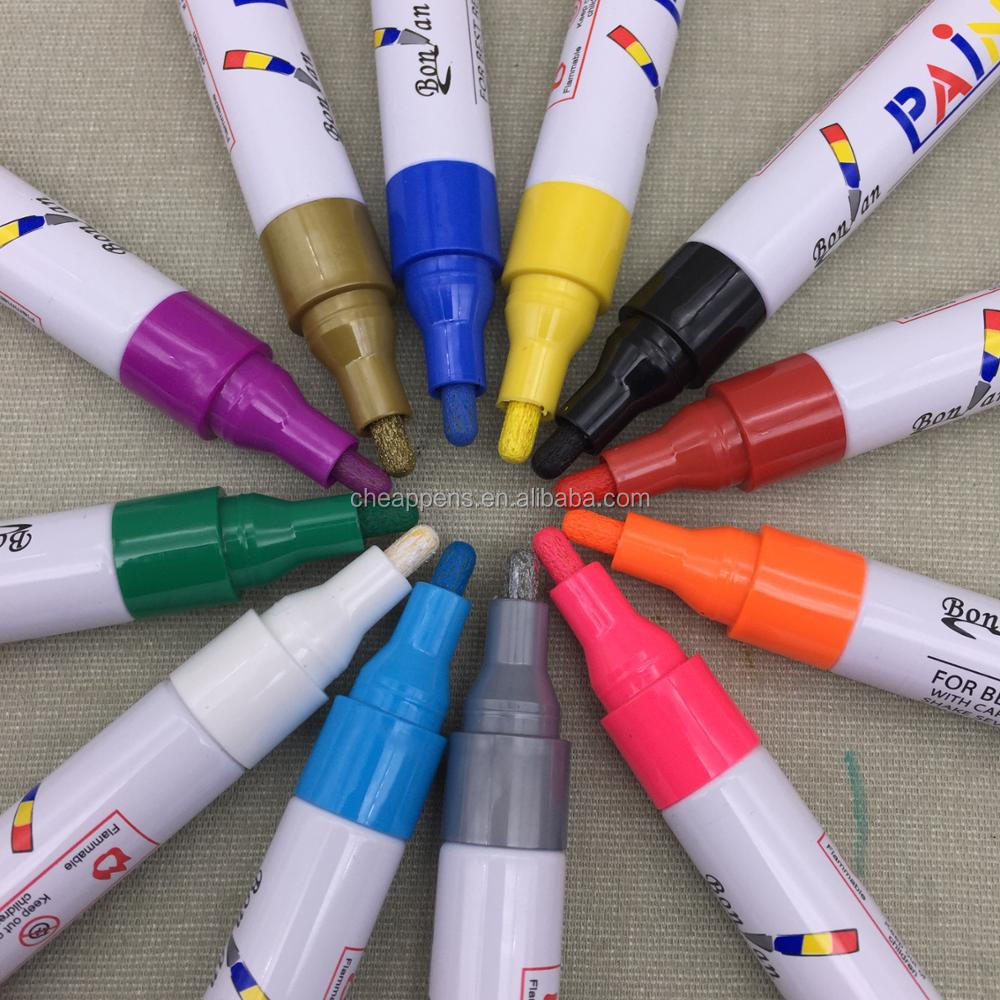 Multifunction use Oil based ink paint marker pen permanent marker