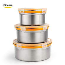 Popular and Hot sale Korea Stainless Steel Bento box / food contianer