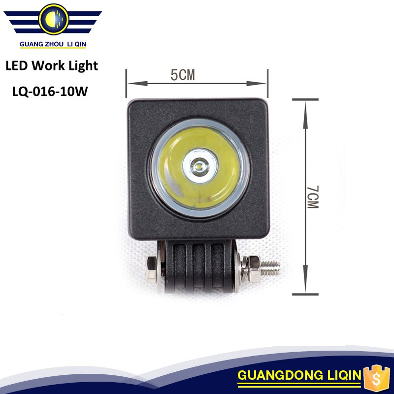 Led work light 10W12/24V3inch water IP67 circle LED work light Spot flood beam forSUV,4x4 truck,4wd off-road vehicle