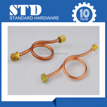 Wholesale Red Copper Buffer Tube/copper straight male tube fittings/copper and brass fittings