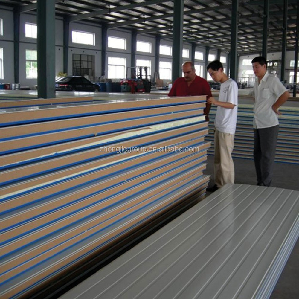 PU sandwich panels with Continuous production