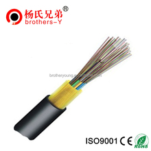 12 Core Gel Thunder-proof Fiber Cable GYFTY Non-metallic Optic Fiber Cable