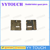 Original Sim and SD Card Read Contact i9300 for Samsung Galaxy S3 Siii i9300 Sim Card Reader Parts