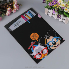 Custom print L shape PP plastic clear file folder manufacturer