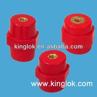 Red PF hexagonal Standoff insulators Standoff busbar insulator Epoxy Busbar Insulator