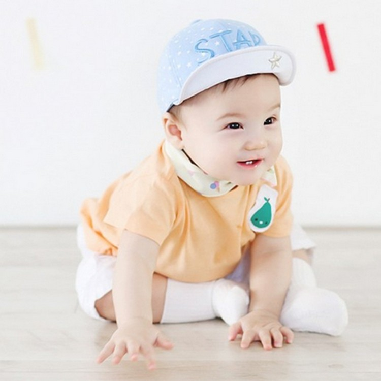 2016 Baby Girls Boys Lovely Summer Spring Sun Procteted Hat Customized Service Type Baby Hats &Caps