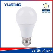 High Quality Plastic Housing A19 LED Grow Light Bulb E27