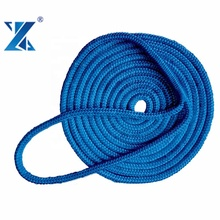 2019 CHNFLEX PLUS Hot sale high tenacity double braided polyamide nylon rope for yacht