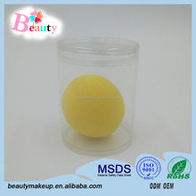 Liquid Foundation And Pressed Powder Cosmetic Pro Makeup Sponge Ball Shape Sponge Applicator,Manufactory In China