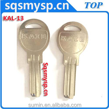 G-076 Best Types of Brass Computer house key blanks KAL-3 manufacturers in china