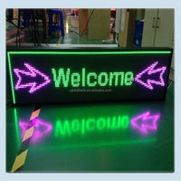 Ali export company customized led column sign