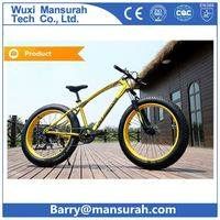 26 inch popular fat bicycle beach cruiser snow bike chopper bike