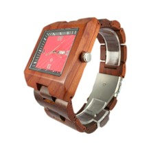 Factory Custom & Best Price Pure Natural Wooden Watch Automatic