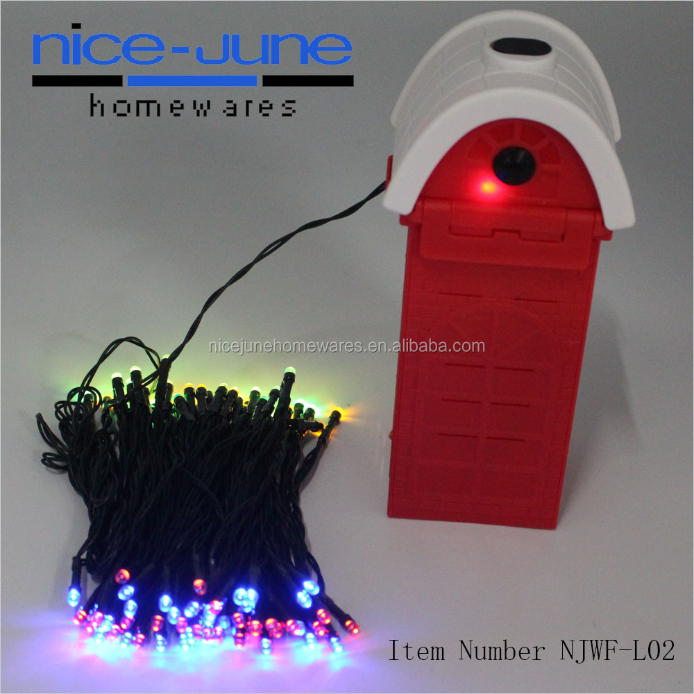 Saline Water Xmas LED String Lights 100LED Christmas Decorative Lights