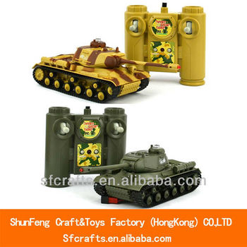 New product 1:36 scale infrared rc tank toy