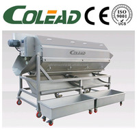 Hot sale new potato carrot peeling machine peeler potato processing line from Colead